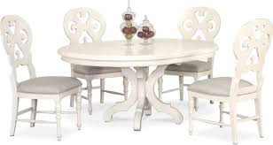 Charleston Round Dining Table And 4 Scroll-Back Side Chairs Jf Chair Covers Excellent Quality Chair Covers Delivered 15 Inexpensive Ding Chairs That Dont Look Cheap How To Make Ding Slipcovers Tie On With Ruffpleated Skirt Canora Grey Velvet Plush Room Slipcover Scroll Sure Fit Top 10 Best For Sale In 2019 Review Damask Find Slipcovers Design Builders