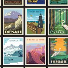 100 Mountain Design Group Amazoncom National Parks Posters Panel By Anderson