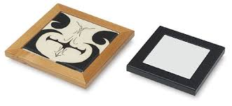 wood trivet frames blick materials
