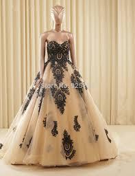 online get cheap gold and black ball gowns aliexpress com