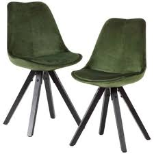wohnling 2er set esszimmerstuhl lima polsterstuhl stoff oder kunstleder bezug rückenlehne design küchenstuhl mehrfarbig