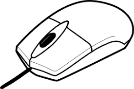 puter Mouse Clip Art Black And White