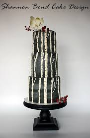 Rustic Birch Tree Wedding Cake We This Moncheribridals Weddingcake
