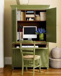 Computer Armoire With Green Color And Shutter Front Doors ... Rustic Reclaimed Wood Shutter Door Armoire Cabinet Computer Indelinkcom 51 Best Shaycle Products Images On Pinterest Cabinets Wardrobe Grey Armoire Door Abolishrmcom Doors And Fniture Brushed Oak Painted Large Land Armoires Wardrobes Bedroom The Home Depot Storage Modern Closet Steveb Interior How To Design An