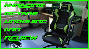 Akracing Gaming Chair Blackorange by Lightningtech 1 Akracing Octane Green Unboxing And Review Youtube