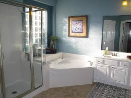 100 Bathrooms With Corner Tubs Small Bathroom Bath And Shower Bathroom Design Ideas