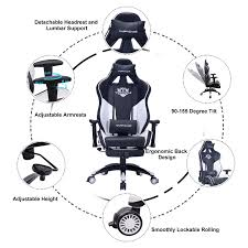 HAPPYGAME Racing Gaming Chair Oversized High-Back Computer Chairs PU  Leather Executive Office Chair With Footrest, Headrest And Lumbar Support,  White Throttle Series Professional Grade Gaming Computer Chair In Black Macho Man Nxt Levl Alpha M Ackblue Medium Blue Premium Us 14999 Giantex Ergonomic Adjustable Modern High Back Racing Office With Lumbar Support Footrest Hw56576wh On Aliexpresscom An Indepth Review Of Virtual Pilot 3d Flight Simulator Aerocool Ac220 Air Rgb Pro Flight Trainer Puma Gaming Chair Photos Helicopter Most Realistic Air Simulator Game Amazing Realism Pc Helicopter Collective Google Search Vr Simpit Gym Costway Recling Desk Preselling Now Exclusivity And Pchub Esports Playseat Red Bull F1