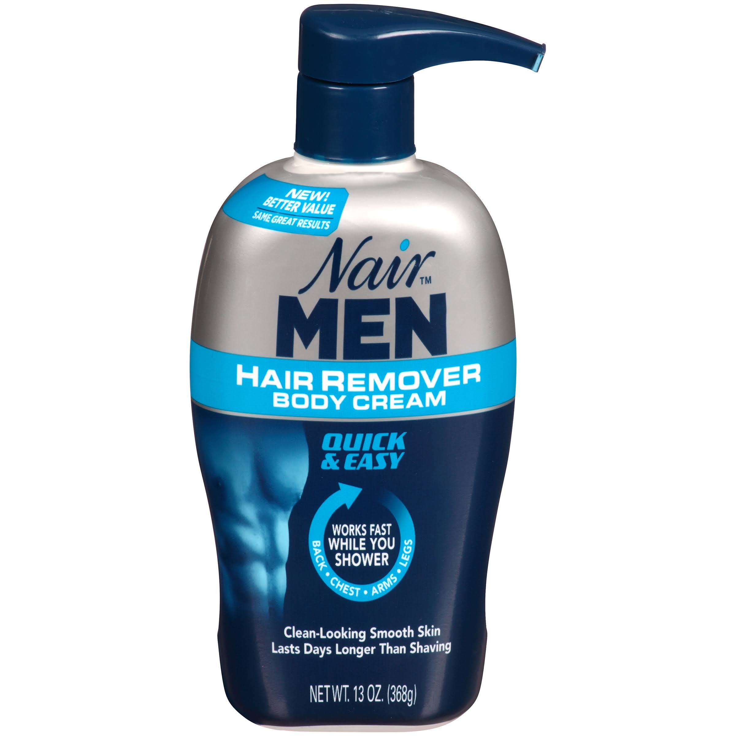 Nair Men Hair Remover Body Cream - 13 oz