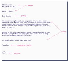4 format of informal letter writing
