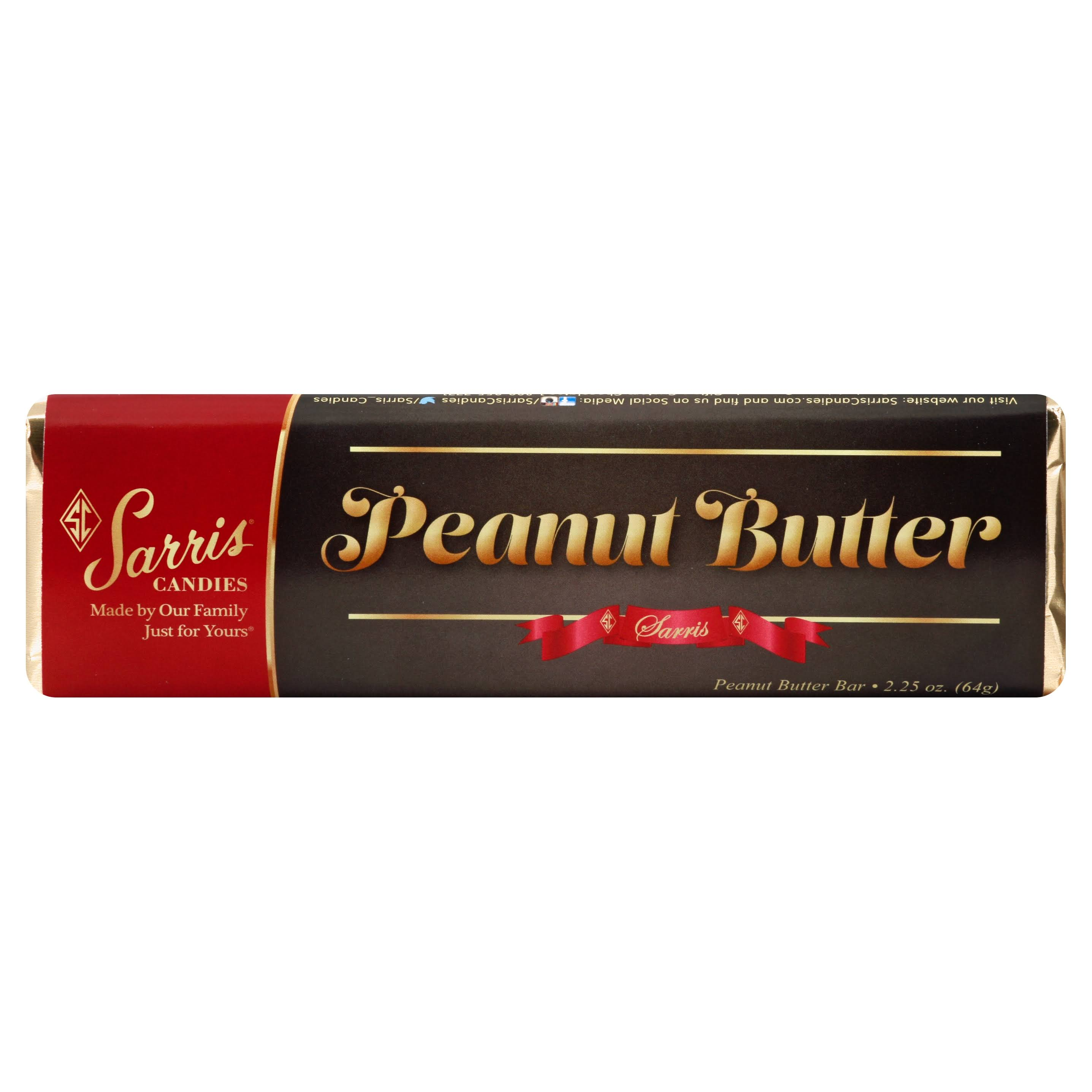 Sarris Candies Peanut Butter Bar - 2.25 (64 g)