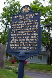 PA 019 Charles Sheeler 1883 1965