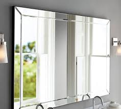 Double Wide Bathroom Mirror Astor Width Pottery Barn Mirrors