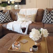 best 25 leather couch decorating ideas on pinterest brown