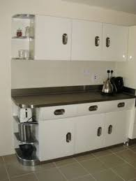English Rose Kitchen 1950 Retro And Stainless Steel Worksurfaces