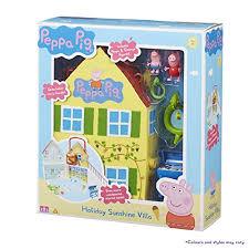 peppa pig time villa playsets canada