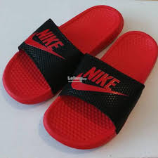 NIKE SANDAL SLIPPERS BEACH WEAR NEW TRIPLE AAA QUALITY RUBBER CRIMSON