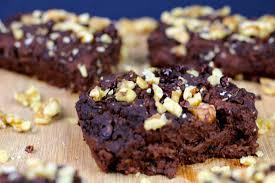 vegane brownies aus schwarzen bohnen saftig ohne haushaltszucker