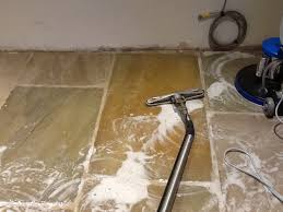 Removing Grout Haze From Porcelain Tile by Removing Grout Haze Left From Sandstone After Tiling Stone