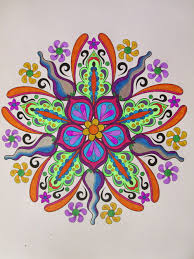 Heres My Very First One From Design Originals Flower Mandalas