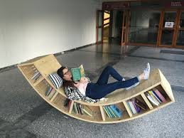 100 Rocking Chair With Books Helf 1285 Nails Chair Bookcase