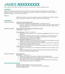 Production Operator Resume Example Archer Daniels Midland