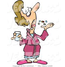 people taking medication clipart 10