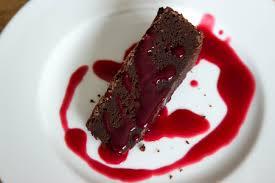 Flourless Chocolate Cake with Raspberry Sauce The Homegrown Gourmet