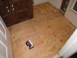 Plywood Subfloor On Concrete