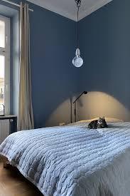 farbfreude alex schlafzimmer in blau kolorat wandfarbe