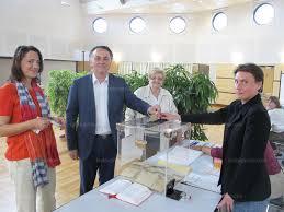 bureau de vote haute savoie haute savoie le tour des bureaux de vote en images