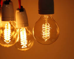 large edison e27 globe bulb 220v 40w goldline filament
