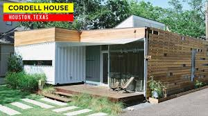 100 Container Homes Texas Cordell House Shipping Home In Houston