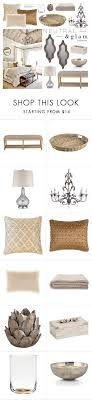 Neutral Glam Bedroom By Emmy Liked On Polyvore Featuring Interior Interiors BedroomPier One