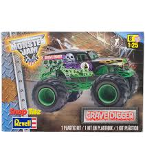 SnapTite Plastic Model Kit - Grave Digger Monster Truck 1:25 - Kids ... Scale Model Ford Pick Up Truck Lifted Youtube Amt Model Semi Kits Best Resource Mack Dm 600cat Dh8 125 Amtertl 2 Kit Project Ideas Revell 132 Mack Fire Truck Pumper Plastic Snap Model Kit Autocar Maquetas Vehiculos Pinterest Models Car The Modelling News Meng Are At Nemburg Toy Fair To Pick And Trailer Monogram Tom Daniels Garbage Plastic Kit 124 Scale 1966 Chevy Fleetside Pickup Revell 857225 New Custom Truck Archives Kiwimill Maker Blog Mpc 852 Datsun Monster Amazoncom Kenworth W900 Toys Games
