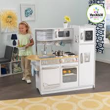 Kidkraft Grand Gourmet Corner Kitchen Play Set by Kidkraft Dollhouse Grand Gourmet Corner Kitchen Wooden Foods For
