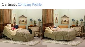 craftmatic adjustable beds company profile
