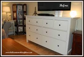 Hemnes 6 Drawer Dresser Hack by Ikea Hemnes Chest Of Drawers Makeover