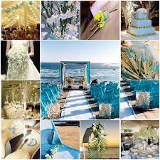 décoration de mariage thème mer bleue comme l eau mariage idées