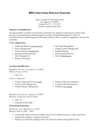 How To Write An Internship Resume Template Examples Top Objective And Templates In