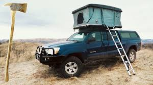 100 Tacoma Truck Tent The Hard Shell CVT Roof Top YouTube