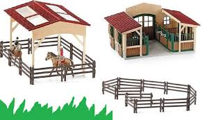 Schleich Farm Life Accessory Set Horse Stable With Accessories ... Saddle Up With The Sleich Horse Club Riding Centre The Toy Insider Grand Stable Barn Corral Amazoncom Melissa Doug Fold And Go Wooden Ikea Hack Knagglig Crate For Horses Best Farm Toys Photos 2017 Blue Maize Breyer Stablemates Red Set Kids Ebay Life In Skunk Hollow Calebs Model How To Make Stall Dividers A Box Toy Horse Barns Sale Ideas Classics Country Wash Walmartcom Kid Friendly Youtube Traditional Deluxe Wood Cupola