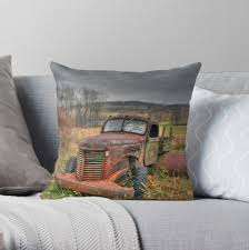 100 1938 International Truck Doodle Bug Throw Pillow