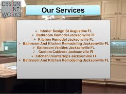 Bathroom Vanities Jacksonville Fl by Bathroom And Kitchen Remodeling In Jacksonville Fl Design Line Work U2026