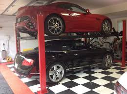 Car Lifts For Home Garages by Garage Designs of St Louis