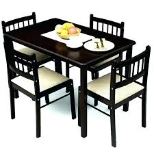 Excellently 4 Seat Dining Tables Table Set With Chairs Popular Graceful Examples Four