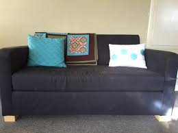 Balkarp Sofa Bed by One Year With Ikea U0027s Second Cheapest Sleeper Sofa The Billfold