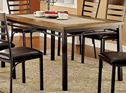 Furniture Of America Naga Industrial Dining Table