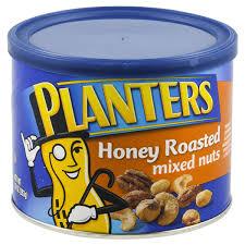 Planters Honey Roasted Mixed Nuts 10 oz