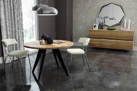runder tisch rund esstisch akazie massiv massivholztisch modern nordic ø 100cm design