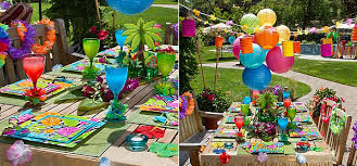 6 Sizzling Outdoor Summer Party Ideas